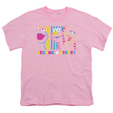Youth: Sesame Street- Patterns & Shapes Friends T-Shirt