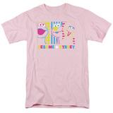 Sesame Street- Patterns & Shapes Friends T-shirts