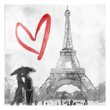 Love In Paris Art by  OnRei
