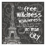 Paris City BW Prints by Lauren Gibbons
