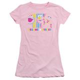 Juniors: Sesame Street- Patterns & Shapes Friends Shirts
