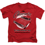 Juvenile: Chevy- Retro Camaro T-shirts