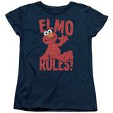 Womans: Sesame Street- Elmo Rules Shirt