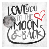 Love to Moon Posters by  OnRei
