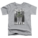 Toddler: Sesame Street- Oscar Talkin Trash Shirts