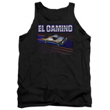 Tank Top: Chevy- El Camino Dash Tank Top