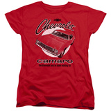 Womans: Chevy- Retro Camaro Shirt