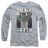 Long Sleeve: Sesame Street- Oscar Talkin Trash Shirts