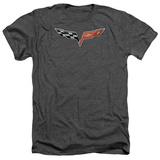 Chevy- Modern Corvette Emblem T-Shirt