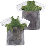 Sesame Street- Oscar Costume Tee (Front- Back) Sublimated