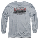 Long Sleeve: Chevy- Distressed El Camino SS T-shirts