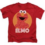 Youth: Sesame Street- Smiley Elmo T-Shirt