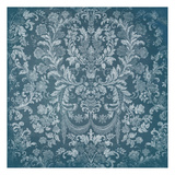 Blue Floral Chaos Prints by Jace Grey