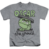 Youth: Sesame Street- Grouch In A Can Shirt
