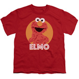 Youth: Sesame Street- Smiley Elmo T-shirts