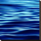 Deep Blue Sea Stretched Canvas Print by Charlie Carter