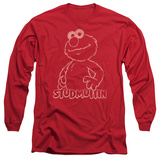 Long Sleeve: Sesame Street- Elmo Studmuffin Long Sleeves
