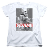 Womens: Sesame Street- On The Street T-shirts