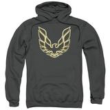 Hoodie: Pontiac- Iconic Firebird Emblem Pullover Hoodie