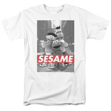 Sesame Street- On The Street T-shirts