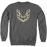Crewneck Sweatshirt: Pontiac- Iconic Firebird Emblem T-shirts