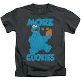 Juvenile: Sesame Street- More Cookies T-Shirt