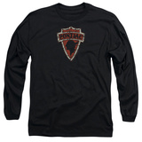 Long Sleeve: Pontiac- Vintage Arrowhead Emblem Shirts