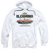 Hoodie: Chevy- El Camino Incredible Truck Pullover Hoodie