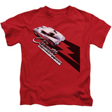 Juvenile: Chevy- Corvette Sting Ray T-shirts