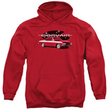 Hoodie: Chevy- 65 Corvair Mona Spyda Coupe Pullover Hoodie