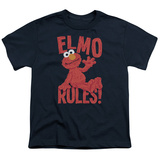 Youth: Sesame Street- Elmo Rules Shirts