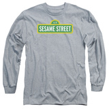 Long Sleeve: Sesame Street- Logo Shirts