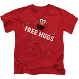 Youth: Sesame Street- Elmo Free Hugs T-Shirt