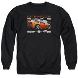 Crewneck Sweatshirt: Chevy- Orange Z06 Vette T-shirts