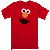 Sesame Street- Big Elmo Face (Big & Tall) Shirts