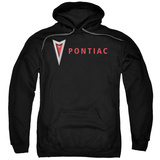 Hoodie: Pontiac- Modern Arrowhead Pullover Hoodie