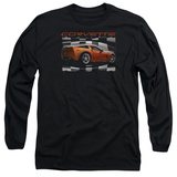 Long Sleeve: Chevy- Orange Z06 Vette T-Shirt
