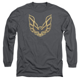 Long Sleeve: Pontiac- Iconic Firebird Emblem T-shirts
