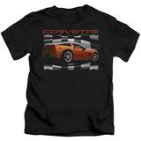 Juvenile: Chevy- Orange Z06 Vette T-shirts