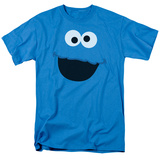 Sesame Street- Cookie Monster Face Shirts