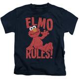 Juvenile: Sesame Street- Elmo Rules T-shirts