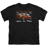 Youth: Chevy- Orange Z06 Vette T-Shirt