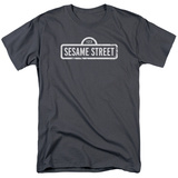 Sesame Street- Distressed Logo T-shirts