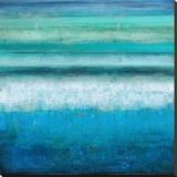 Aqua Tranquility Leinwand von Taylor Hamilton