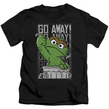 Youth: Sesame Street- Go Away T-shirts