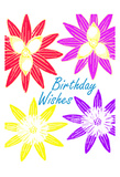 Birthday Wishes Print by Sheldon Lewis