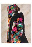 Floral Beauty Poster av Alonzo Saunders