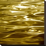 Liquid Gold Stretched Canvas Print by Charlie Carter