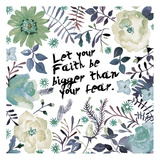 Bigger Than Fear Posters par Victoria Brown