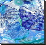 Underwater Perspective I Stretched Canvas Print by Charlie Carter